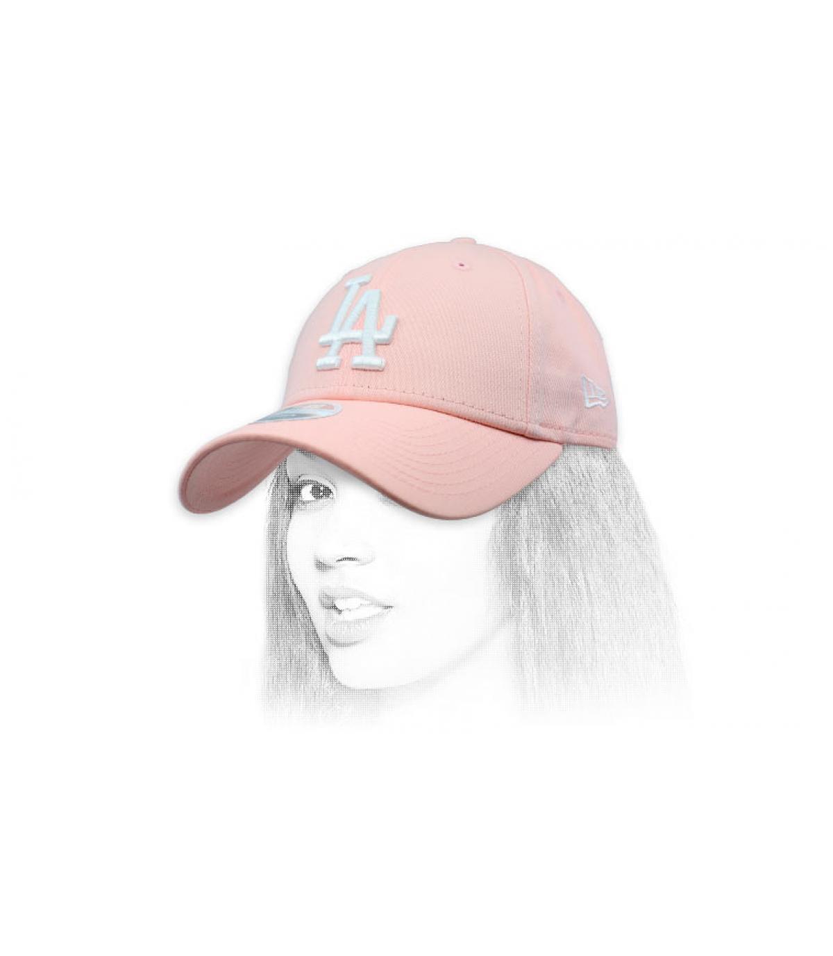 kap LA rose vrouw