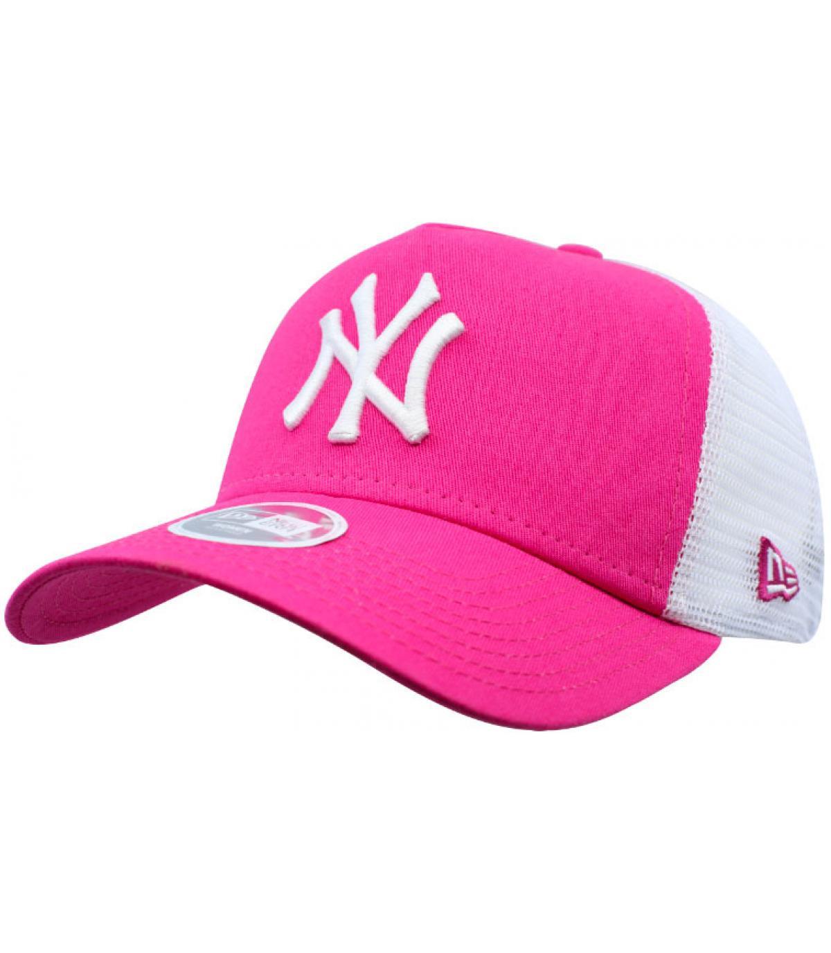 NY trucker roze vrouw