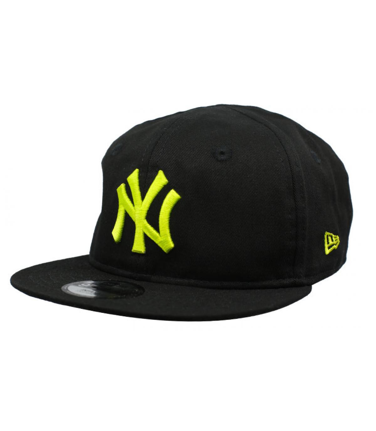Details Baby League Ess NY 9Fifty black cyber yellow - afbeeling 2