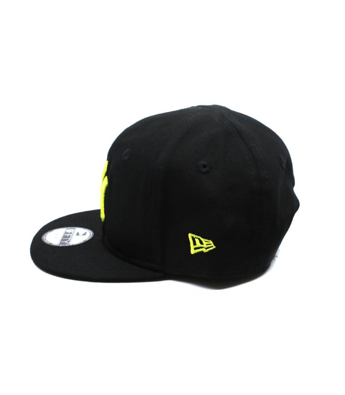 Details Baby League Ess NY 9Fifty black cyber yellow - afbeeling 4