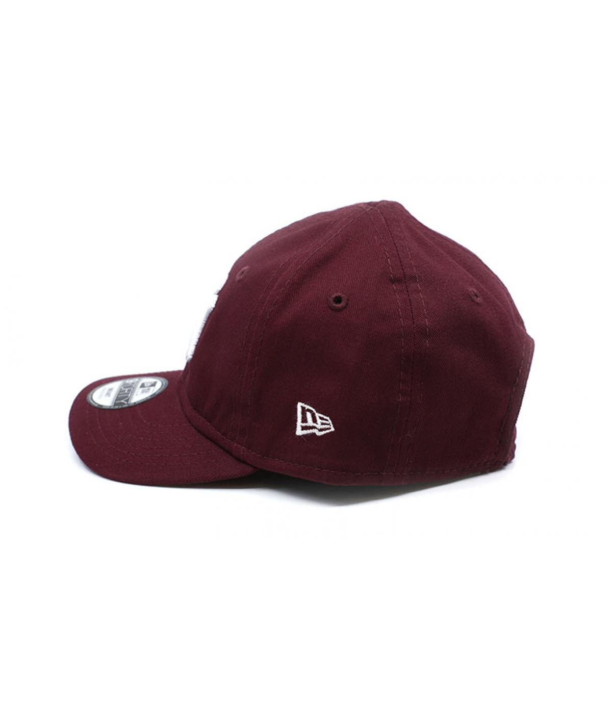 Details Baby League Ess NY 9Forty maroon - afbeeling 4