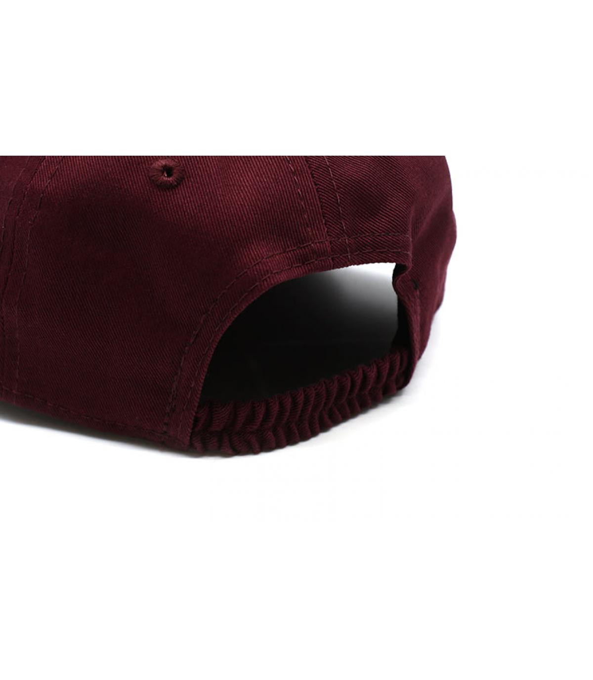 Details Baby League Ess NY 9Forty maroon - afbeeling 5