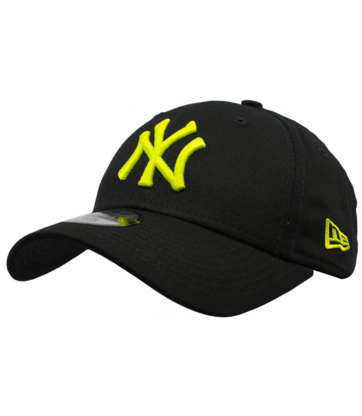 Details Kids League Ess NY 9Forty black cyber green - afbeeling 2