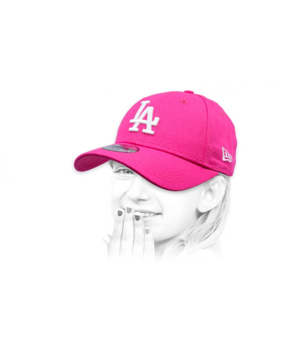 cap LA roze kind