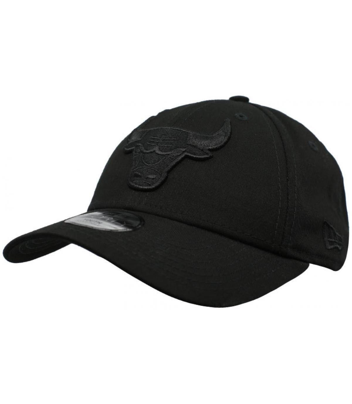 Bulls cap kind zwart