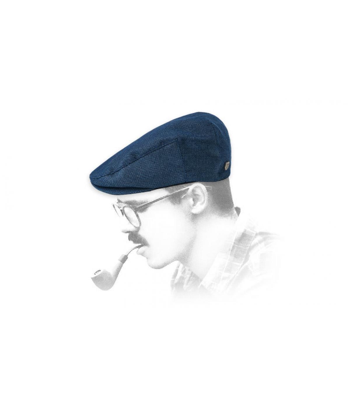 Brixton blauwe baret