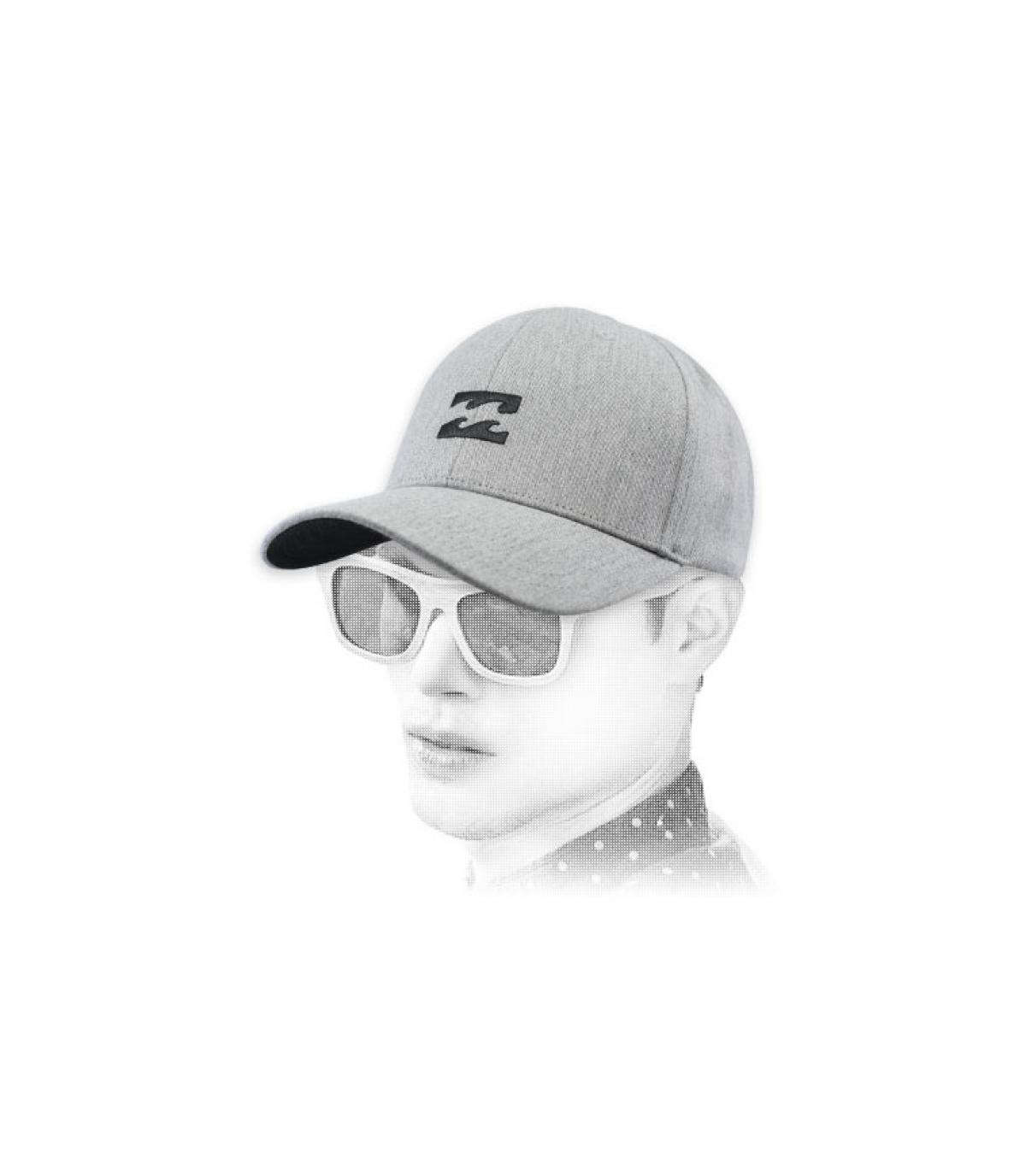 Billabong grijs heather cap