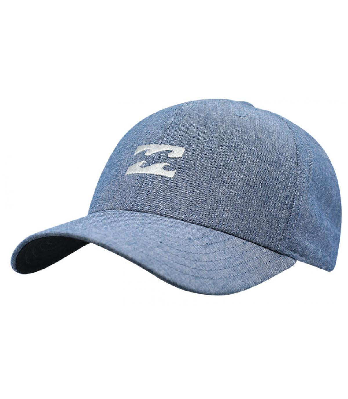 Details All Night Snapback chambray blue - afbeeling 2