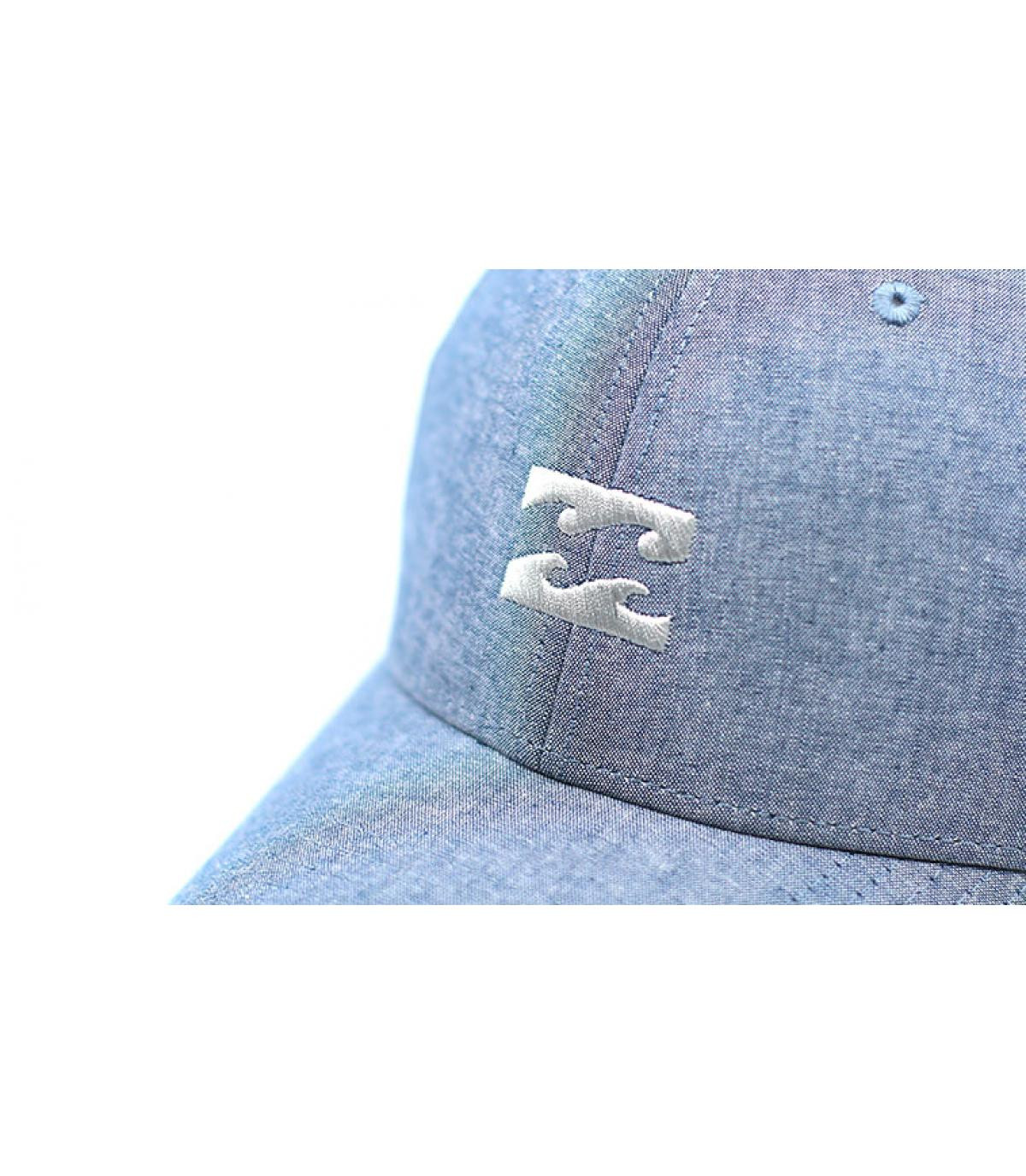 Details All Night Snapback chambray blue - afbeeling 3