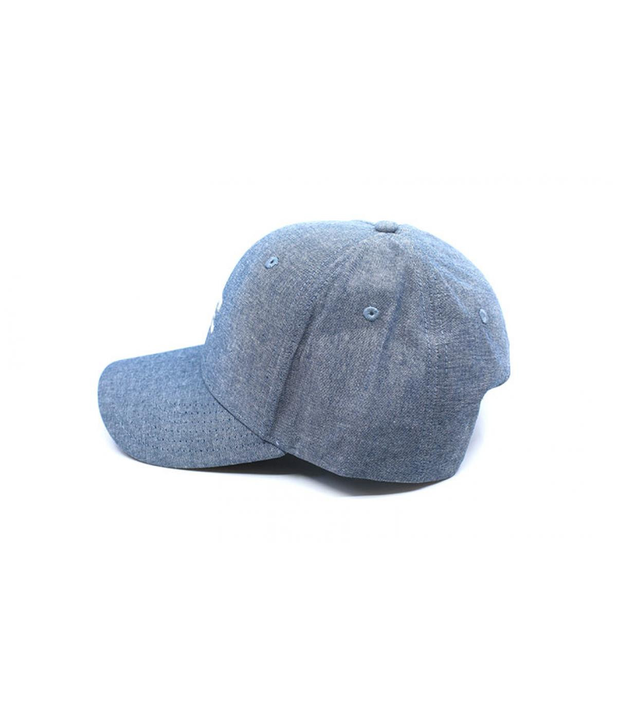 Details All Night Snapback chambray blue - afbeeling 4