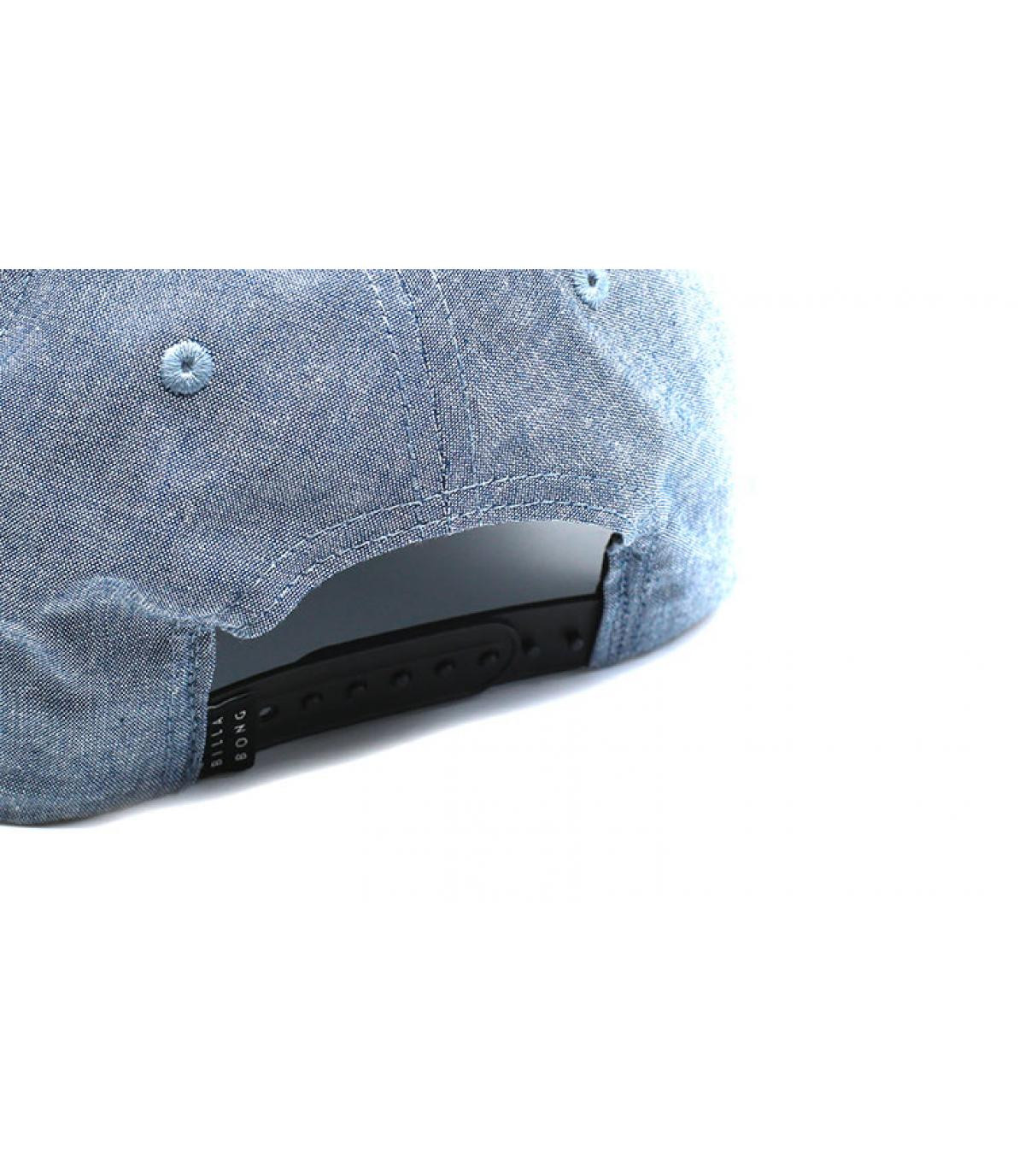 Details All Night Snapback chambray blue - afbeeling 5