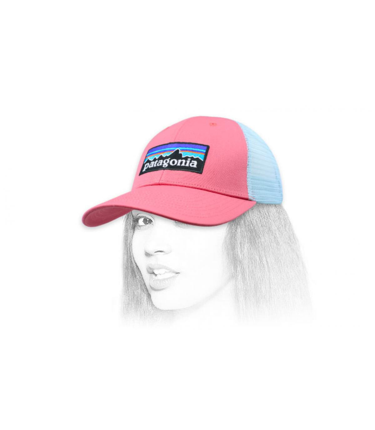 roze trucker Patagonië