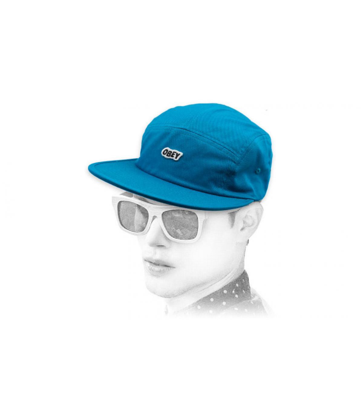 Obey GLB 5 blauw paneel