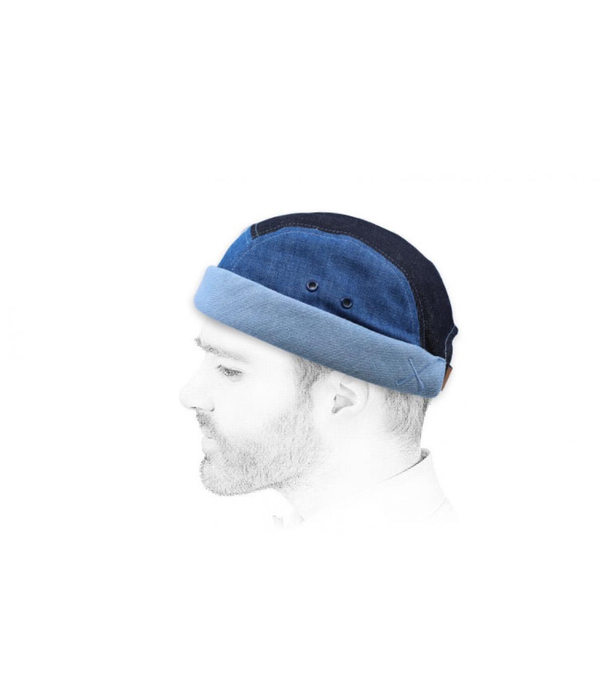 blauwe strepen miki