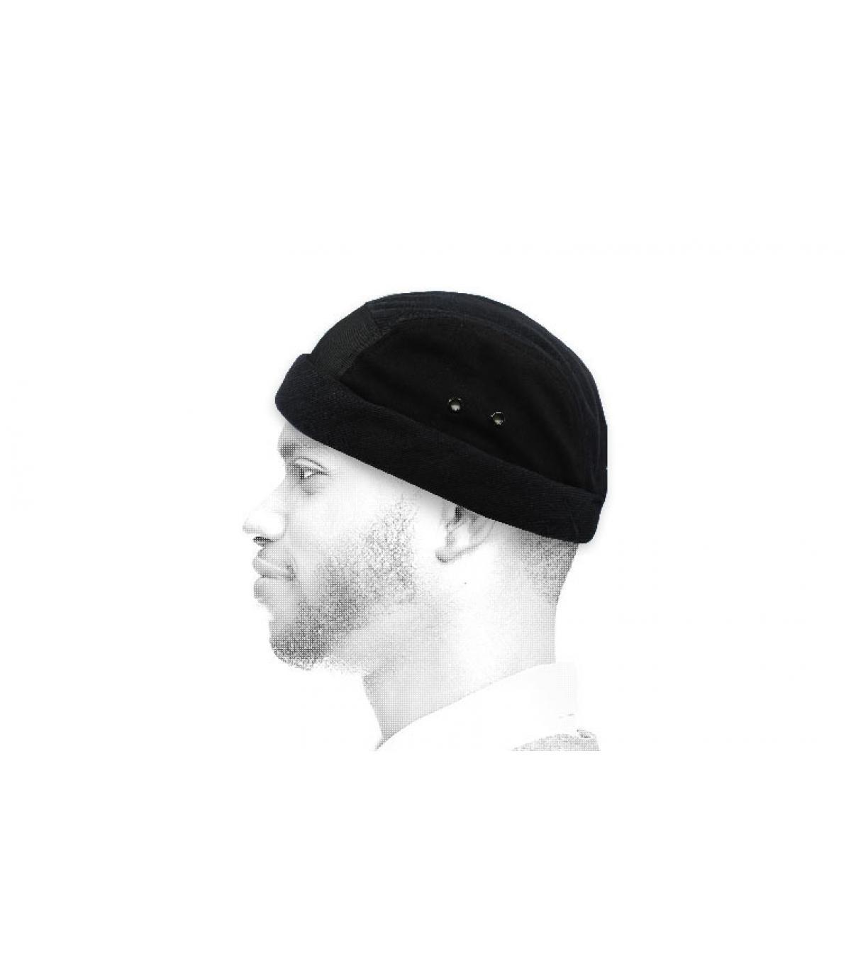zwart miki Béton Ciré