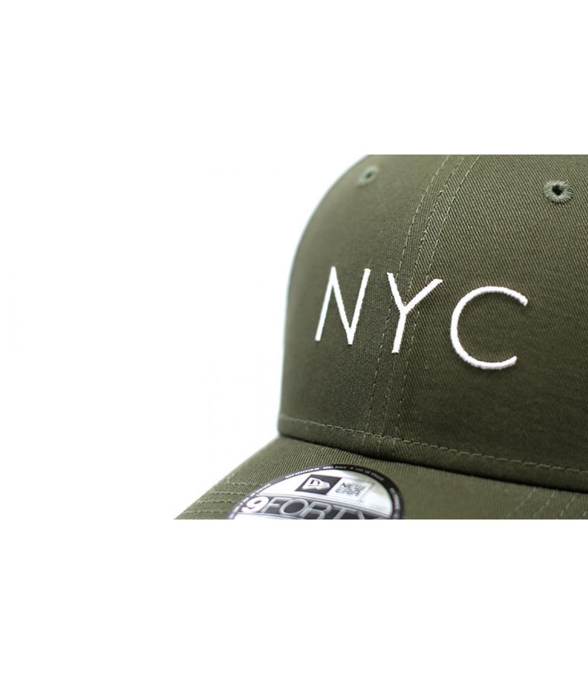 Details NYC NE Ess 9Forty olive - afbeeling 3