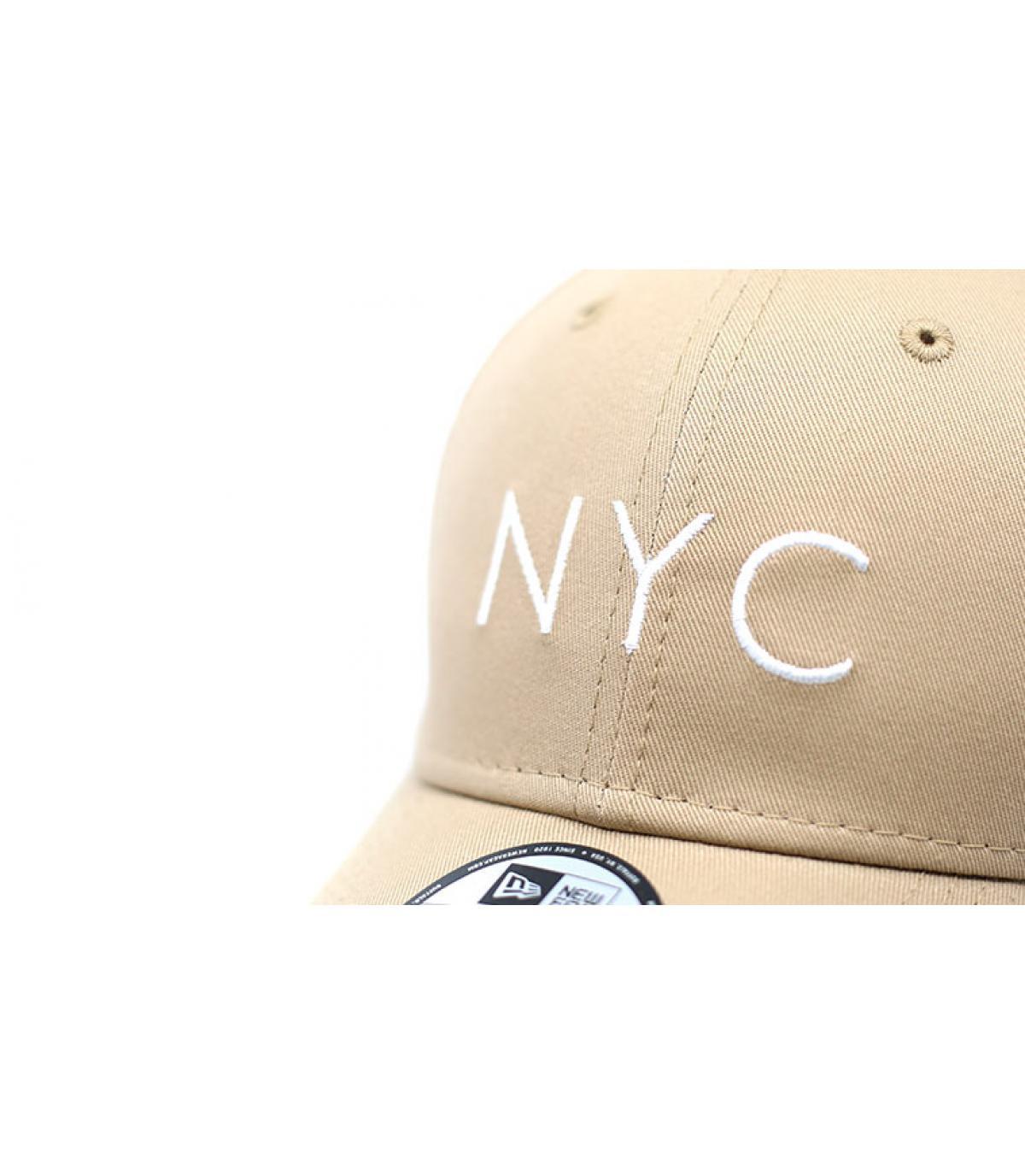 Details NYC NE Ess 9Forty camel - afbeeling 3