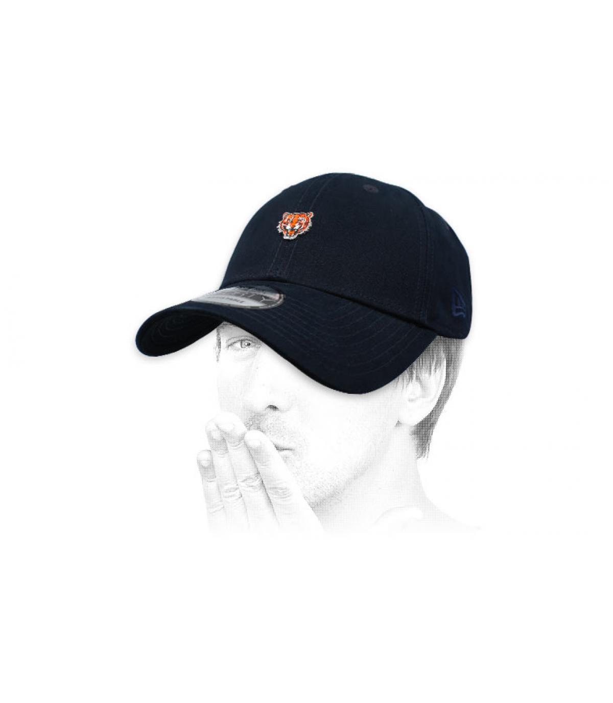 zwarte tijger cap