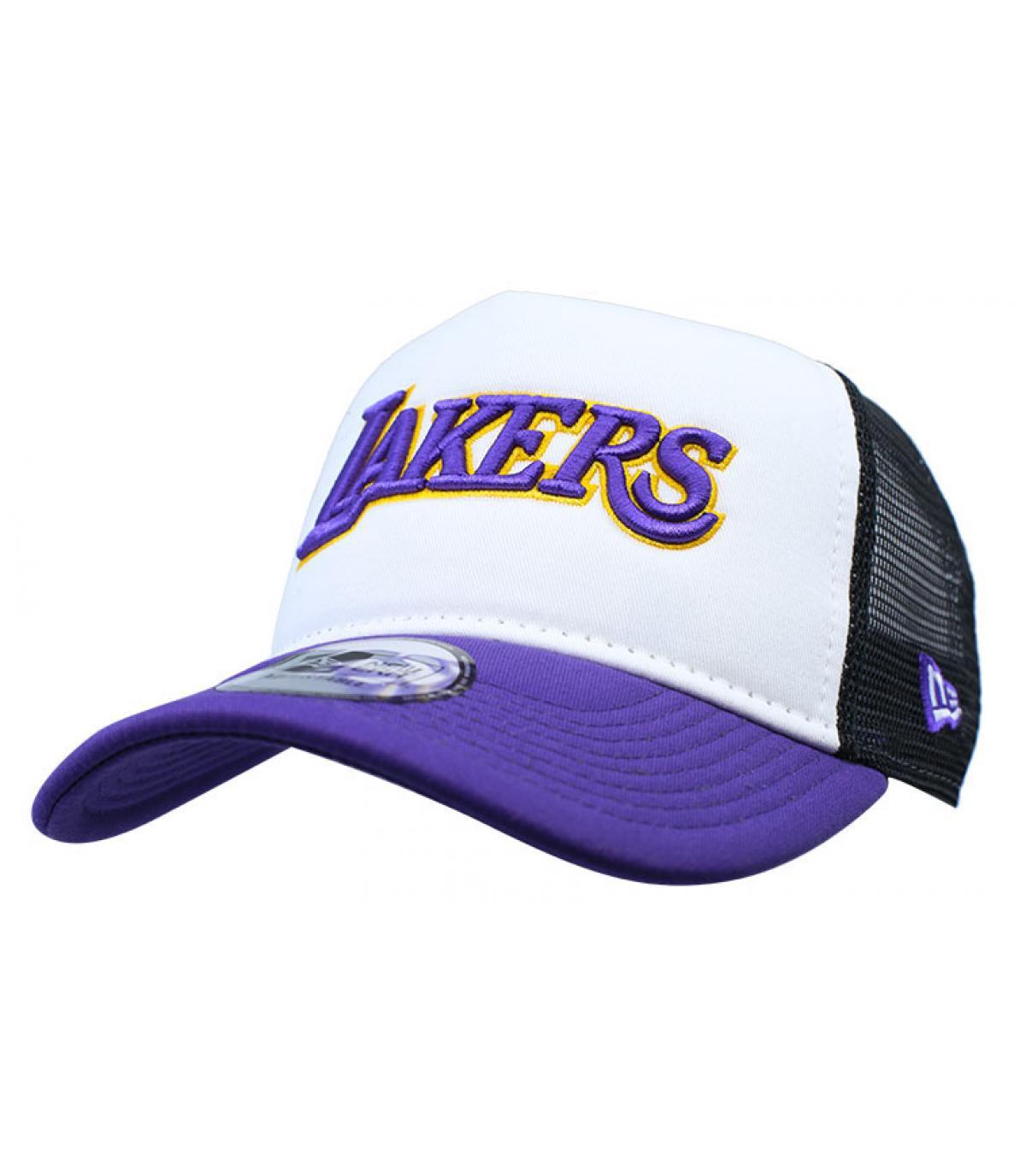 blauwe Lakers trucker