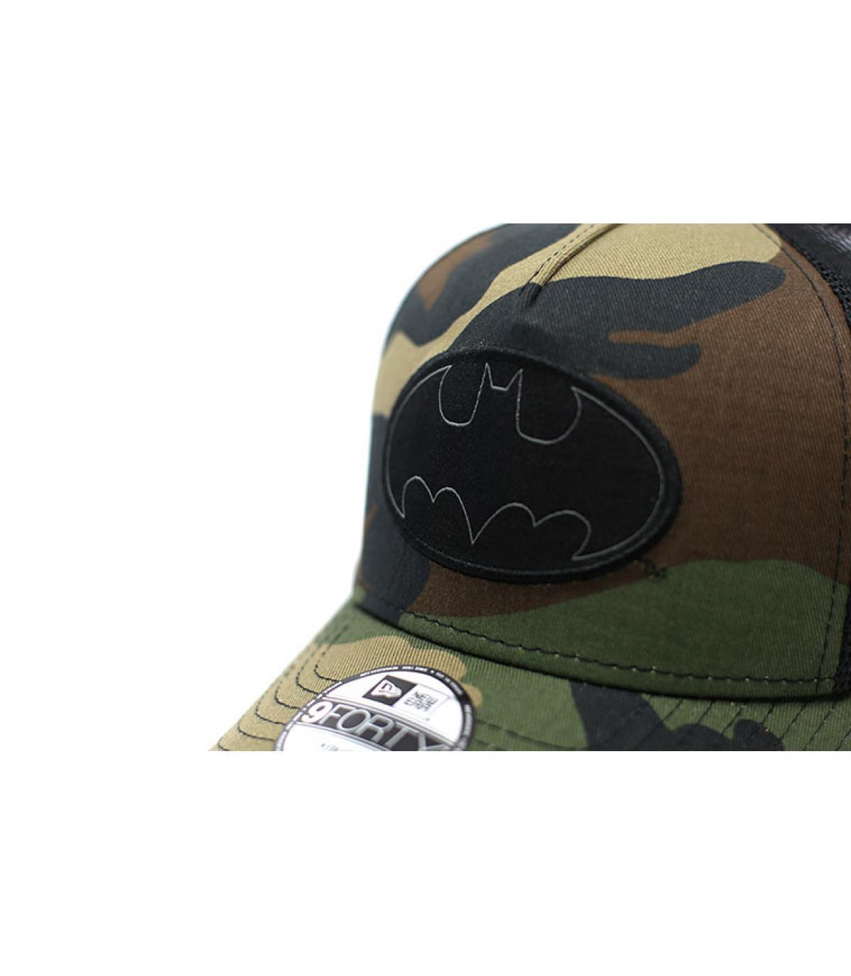 Details Kids Trucker Batman woodland camo - afbeeling 3