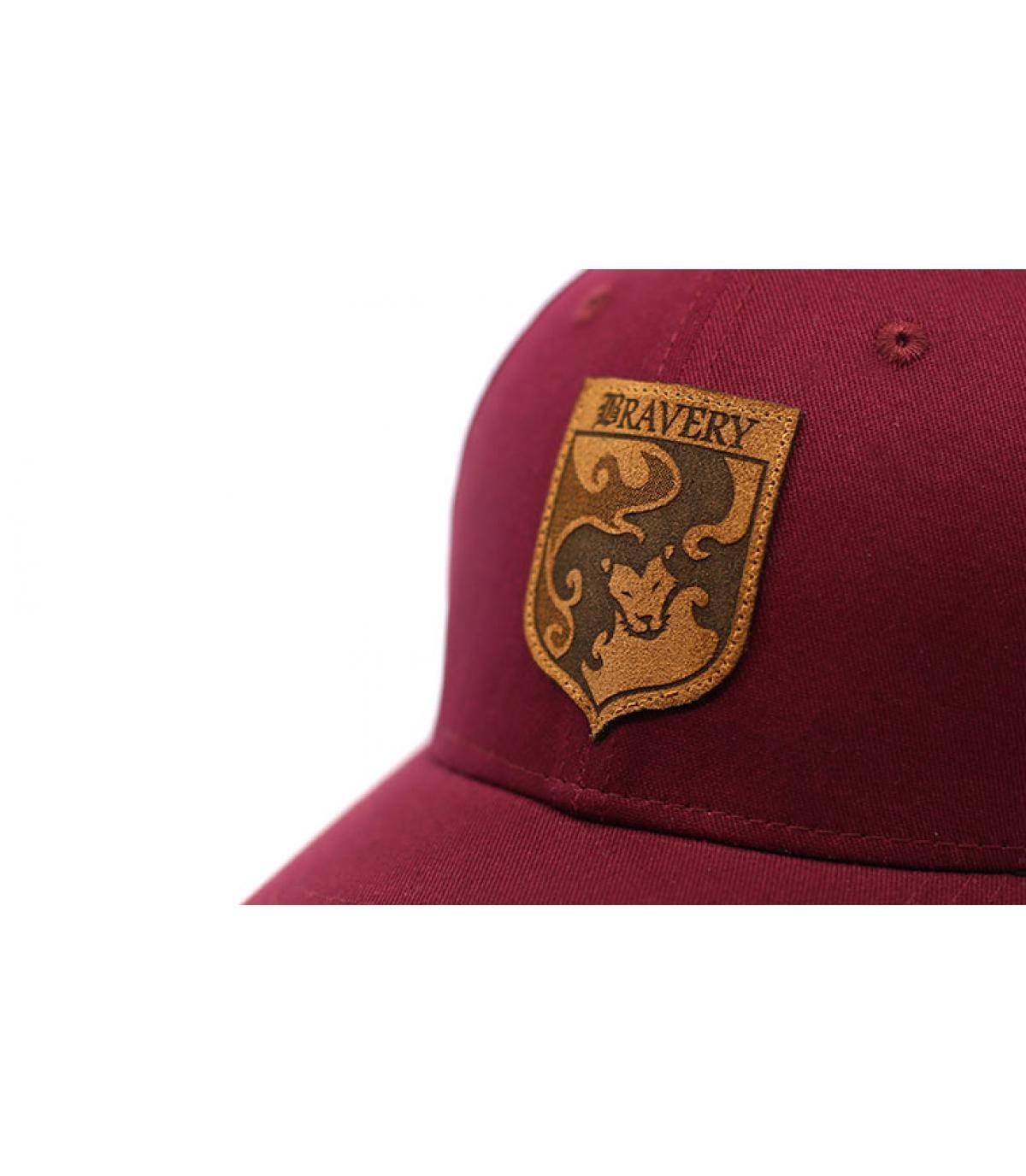 Details Curve Bravery burgundy - afbeeling 3