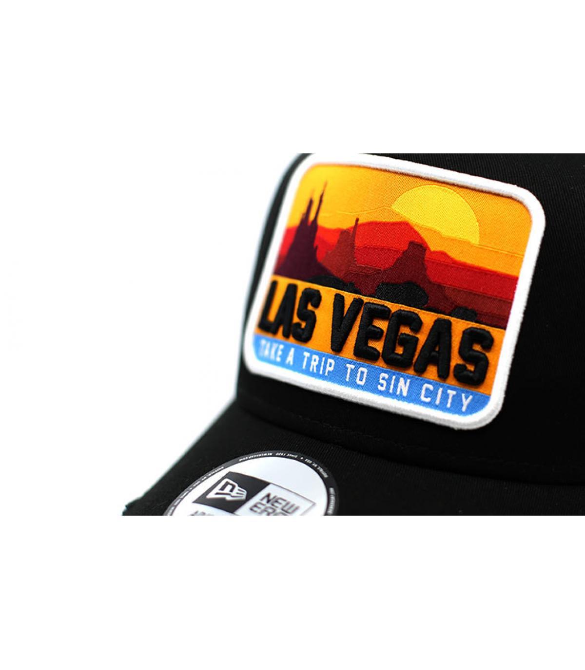 Details Trucker Distressed Patch Las Vegas black - afbeeling 3