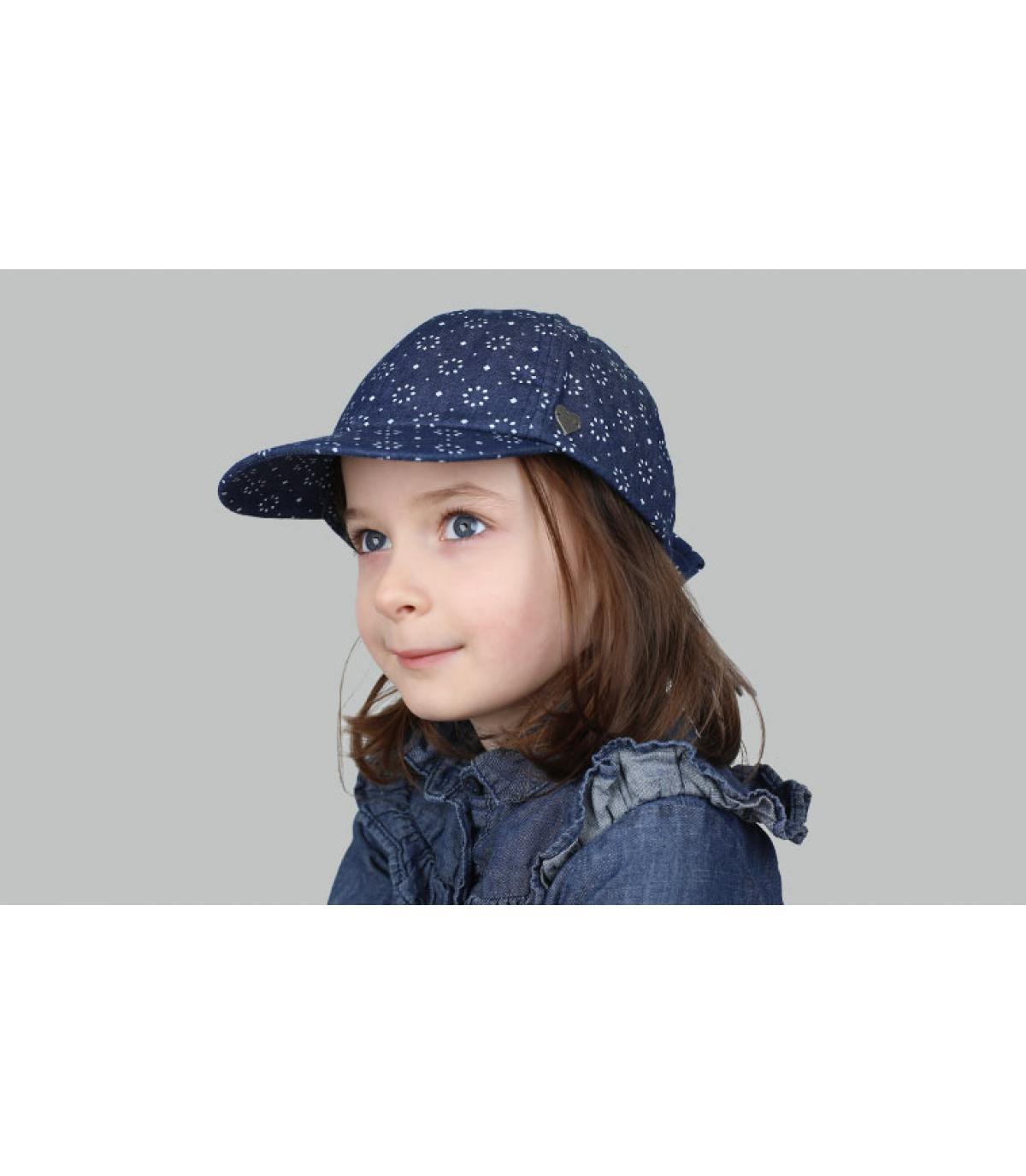 pet kind blauwe strik