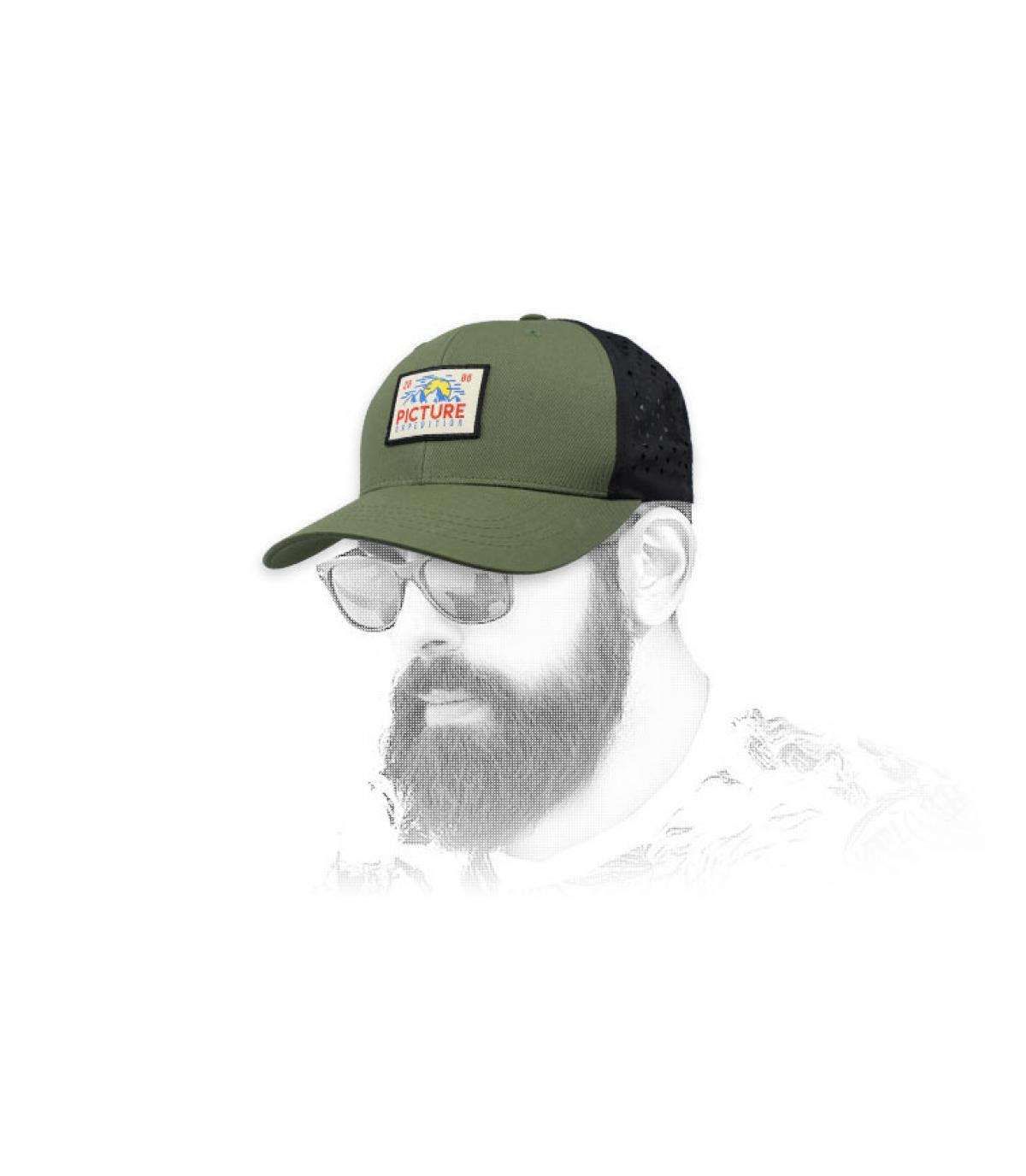 trucker Picture groen