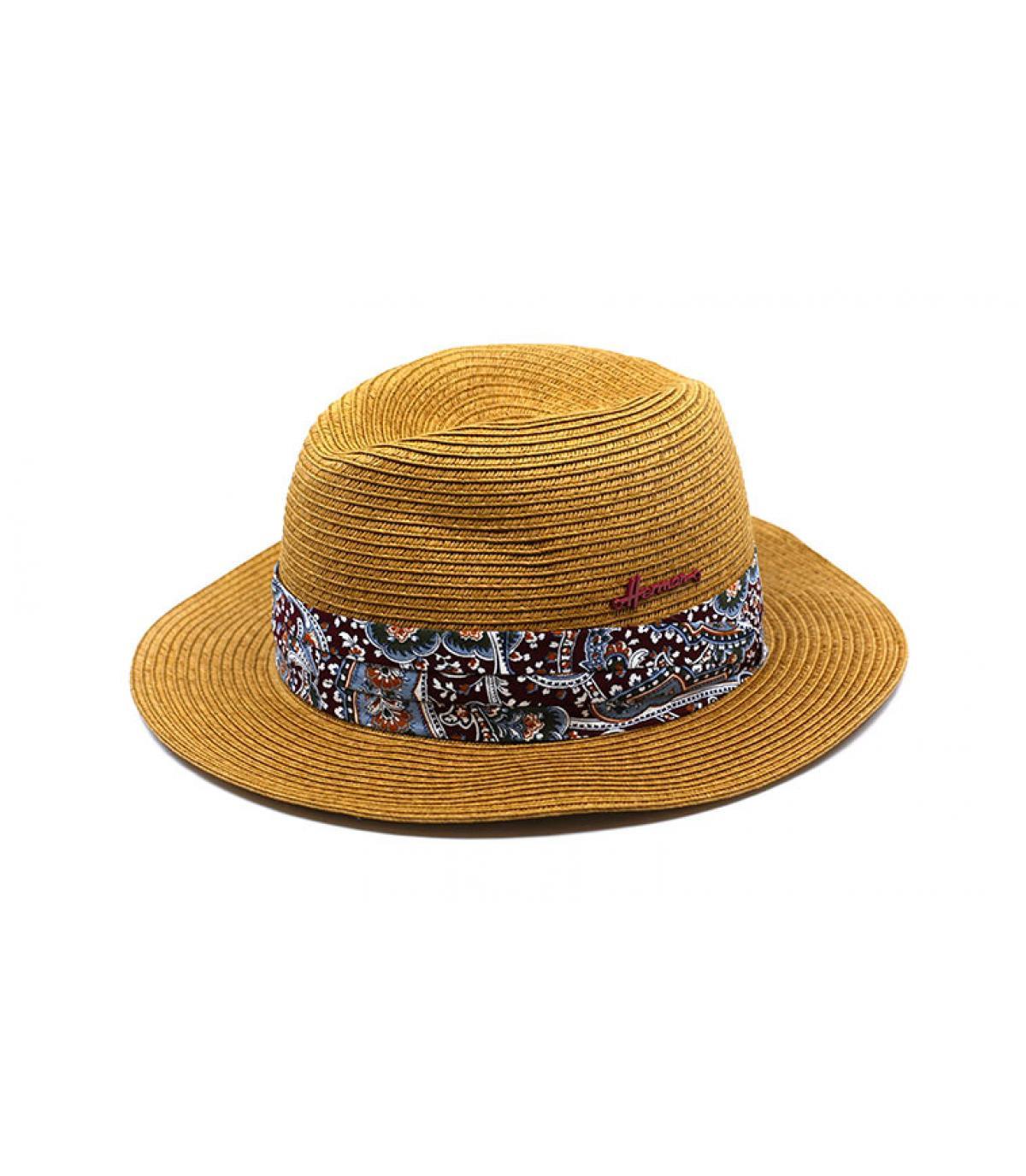 Sjaal strooien hoed