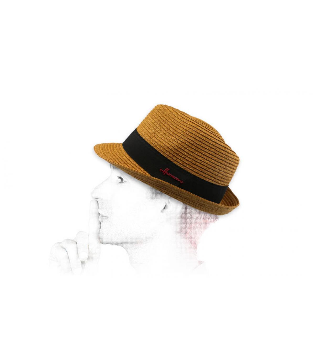 trilby stro bruin Herman