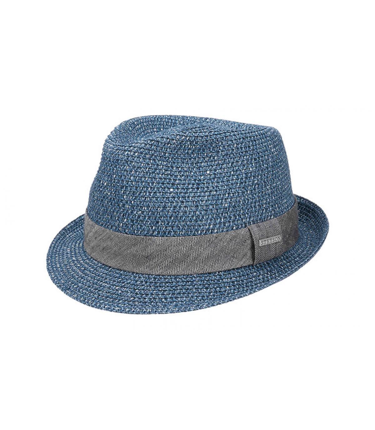 trilby blauwe stro Stetson