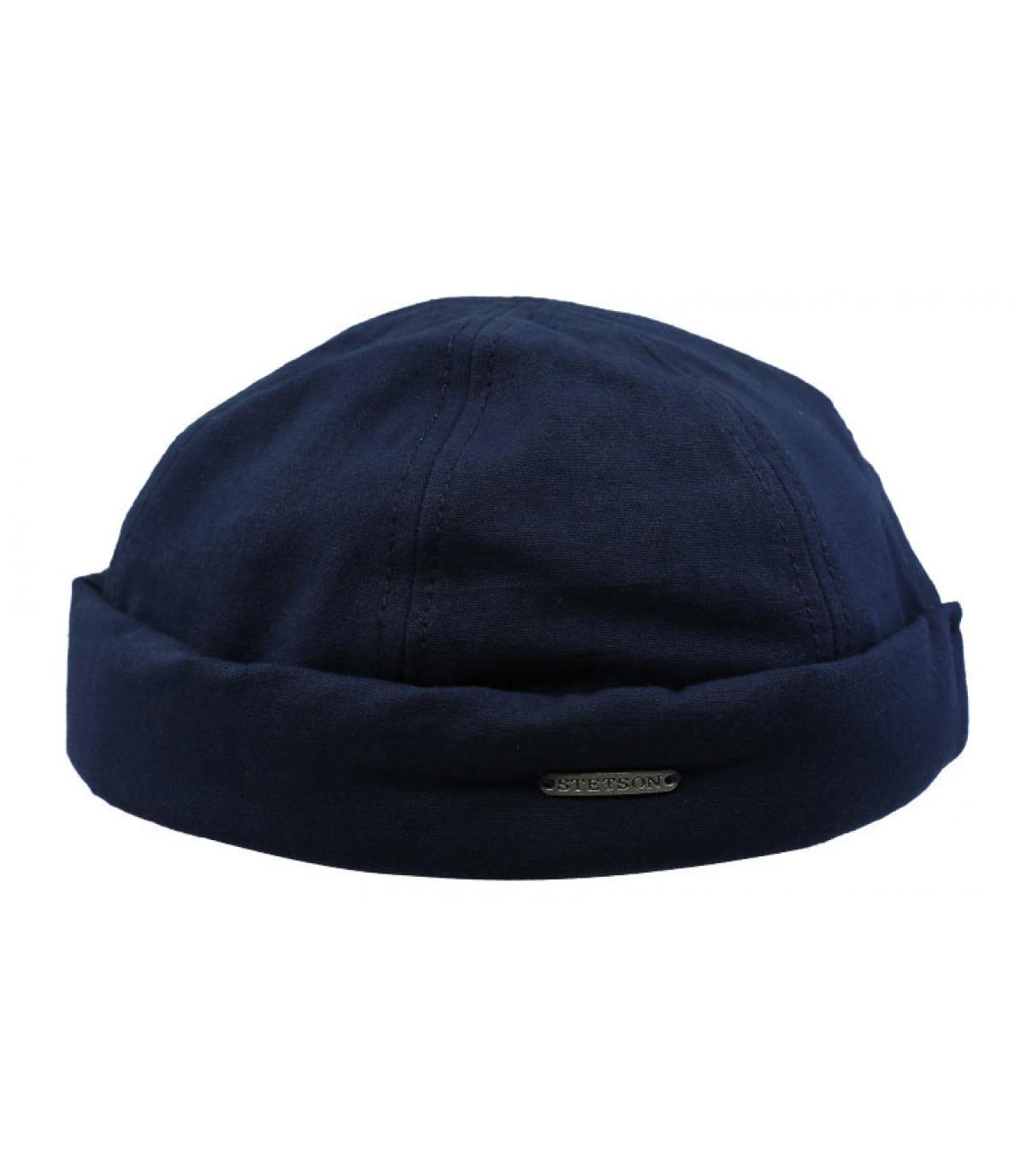 Stetson blauwe docker hoed