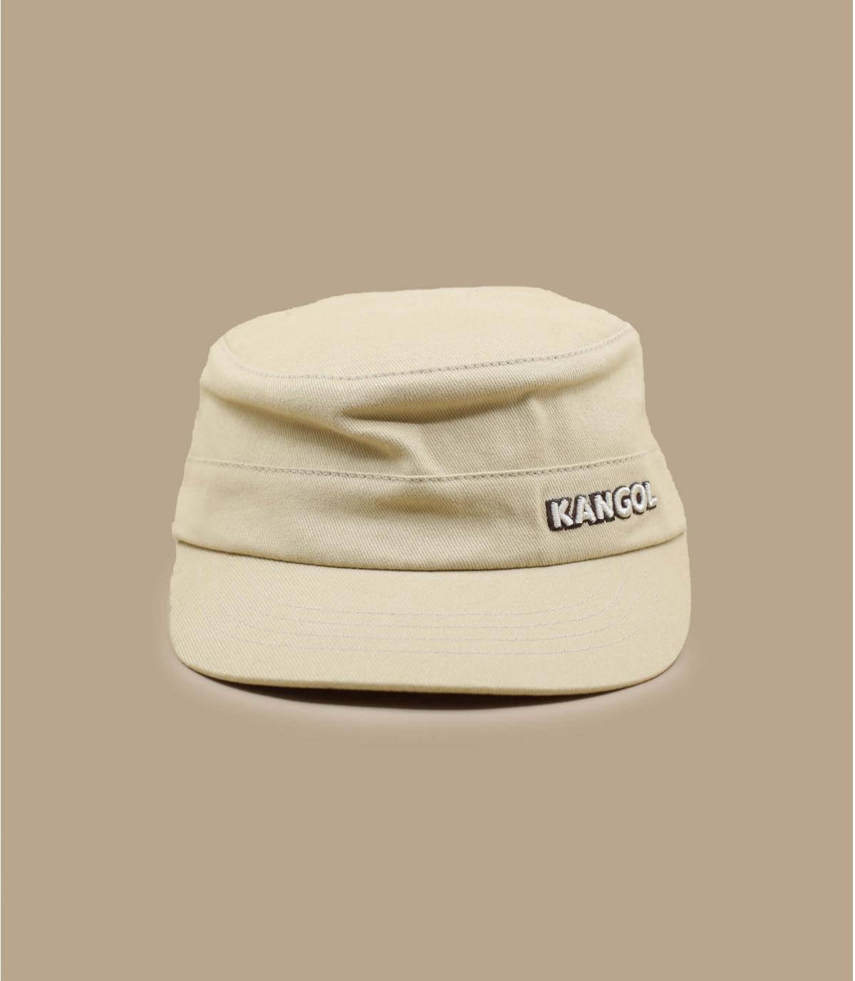 Details Cotton Twilll Army Cap beige - afbeeling 2