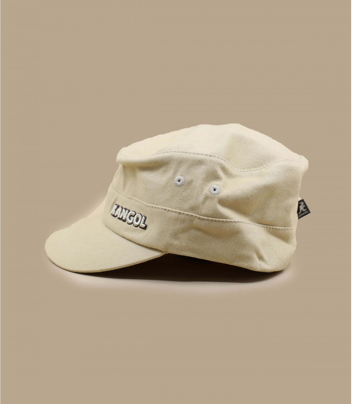 Details Cotton Twilll Army Cap beige - afbeeling 3