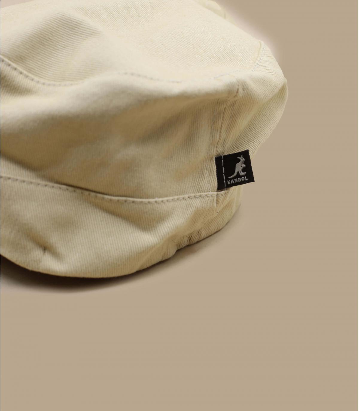 Details Cotton Twilll Army Cap beige - afbeeling 4