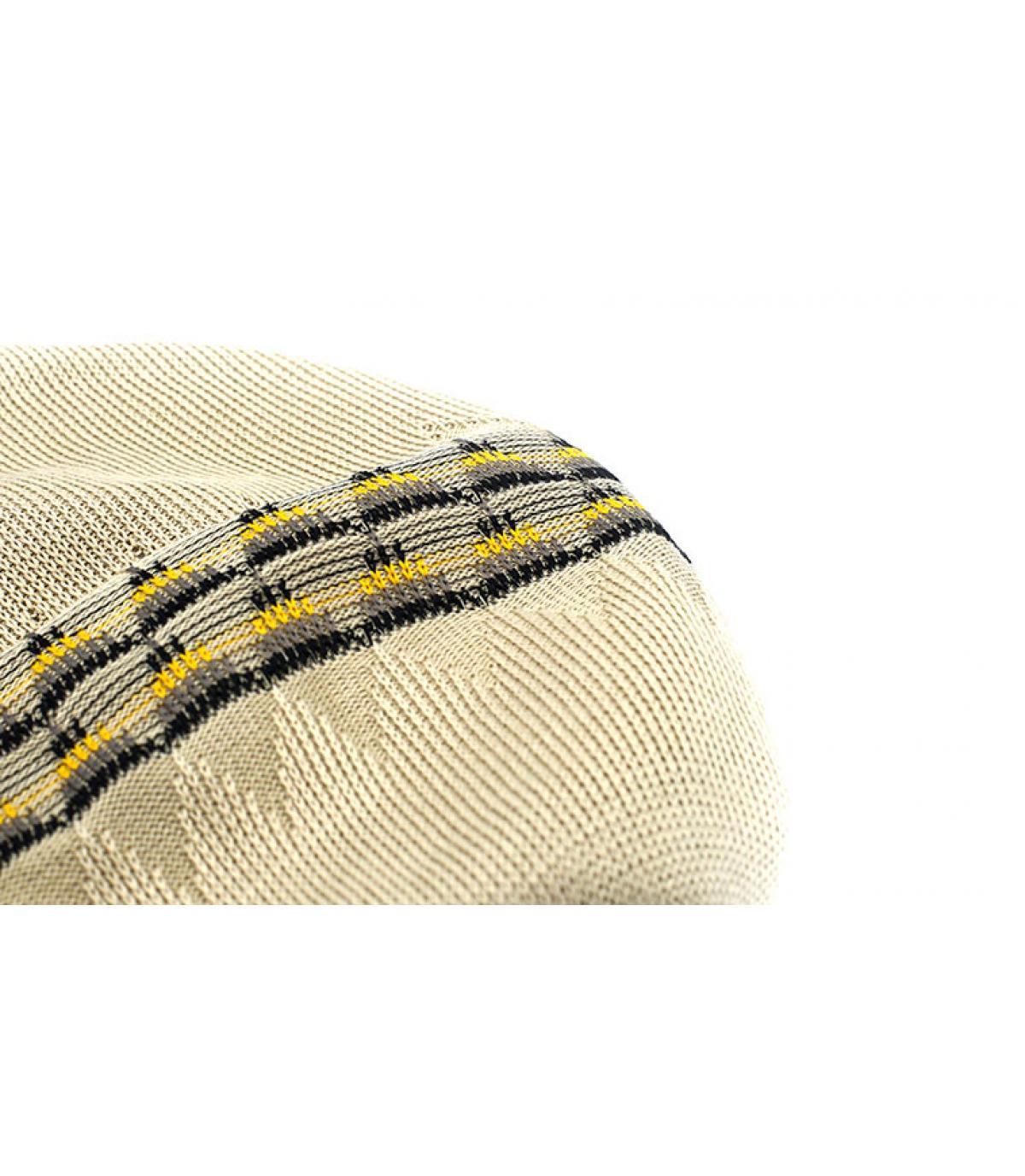 Details Argyle 504 beige - afbeeling 3