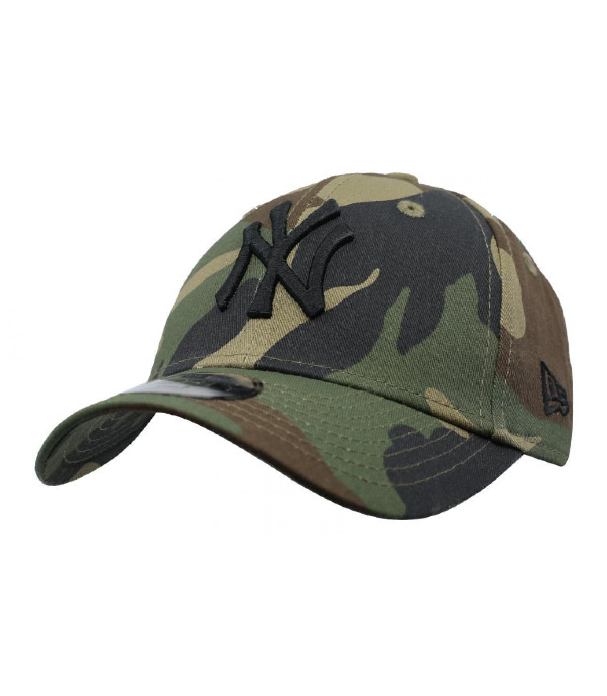 Details Kids League Ess NY 9Forty Camo woodland - afbeeling 2