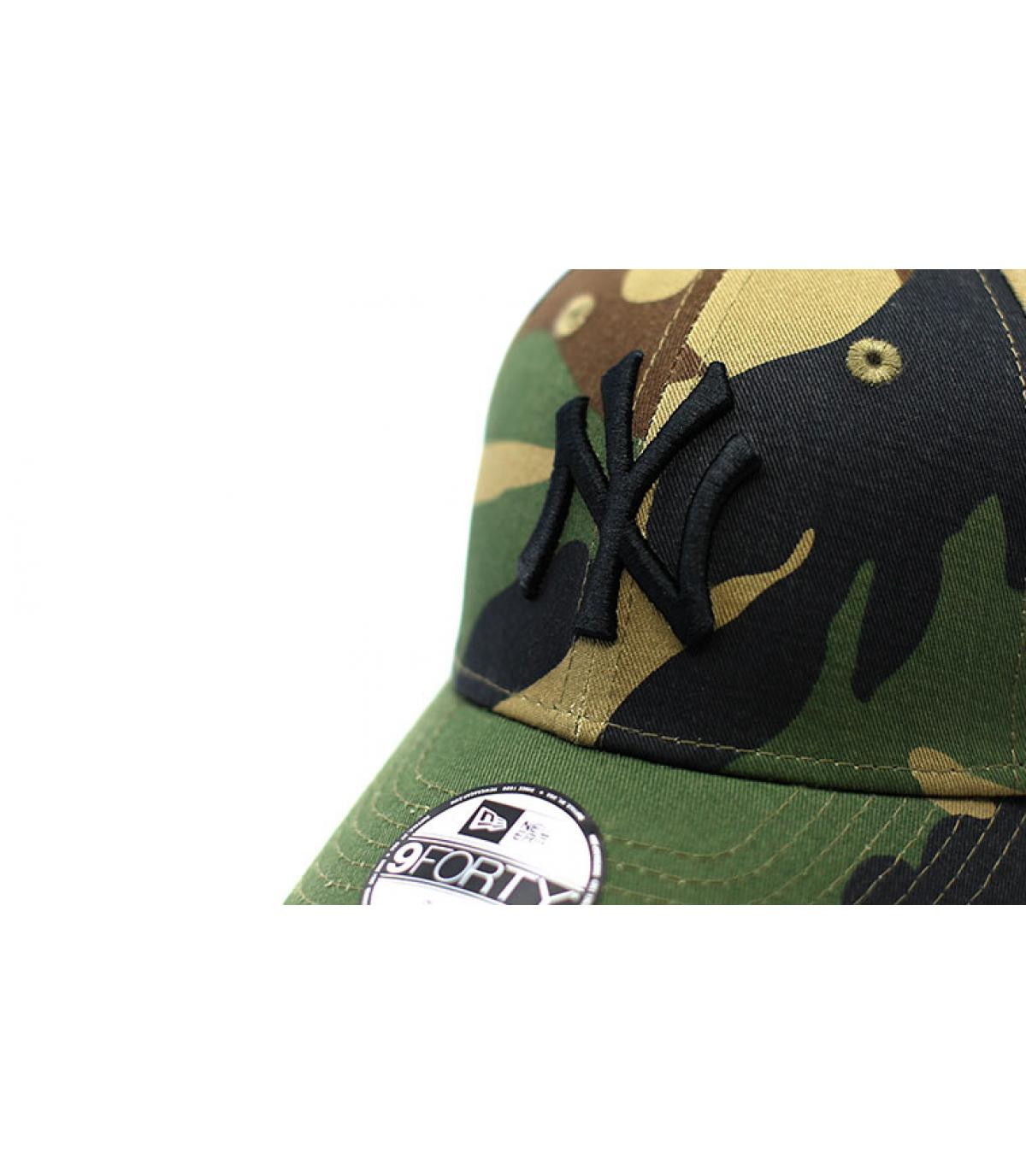 Details Kids League Ess NY 9Forty Camo woodland - afbeeling 3