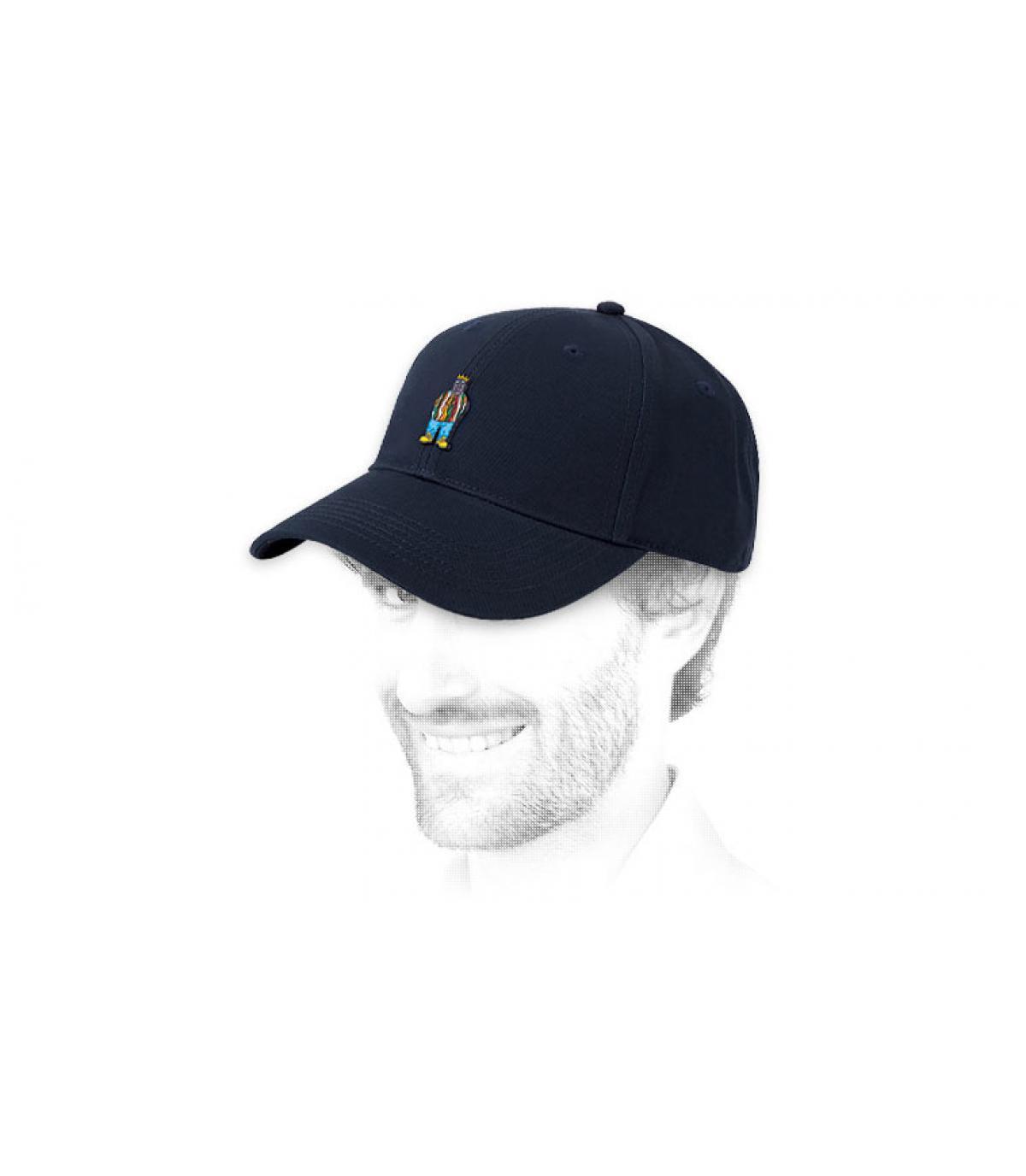 blauw Notorious cap