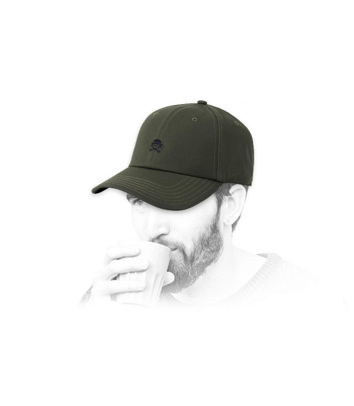 Cayler groen logo cap