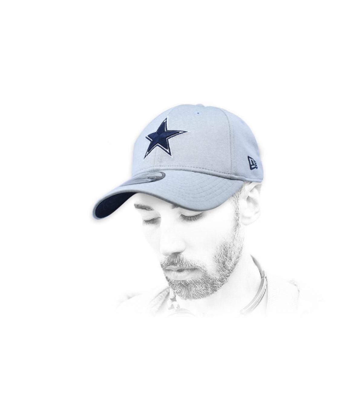 grijze Dallas cap