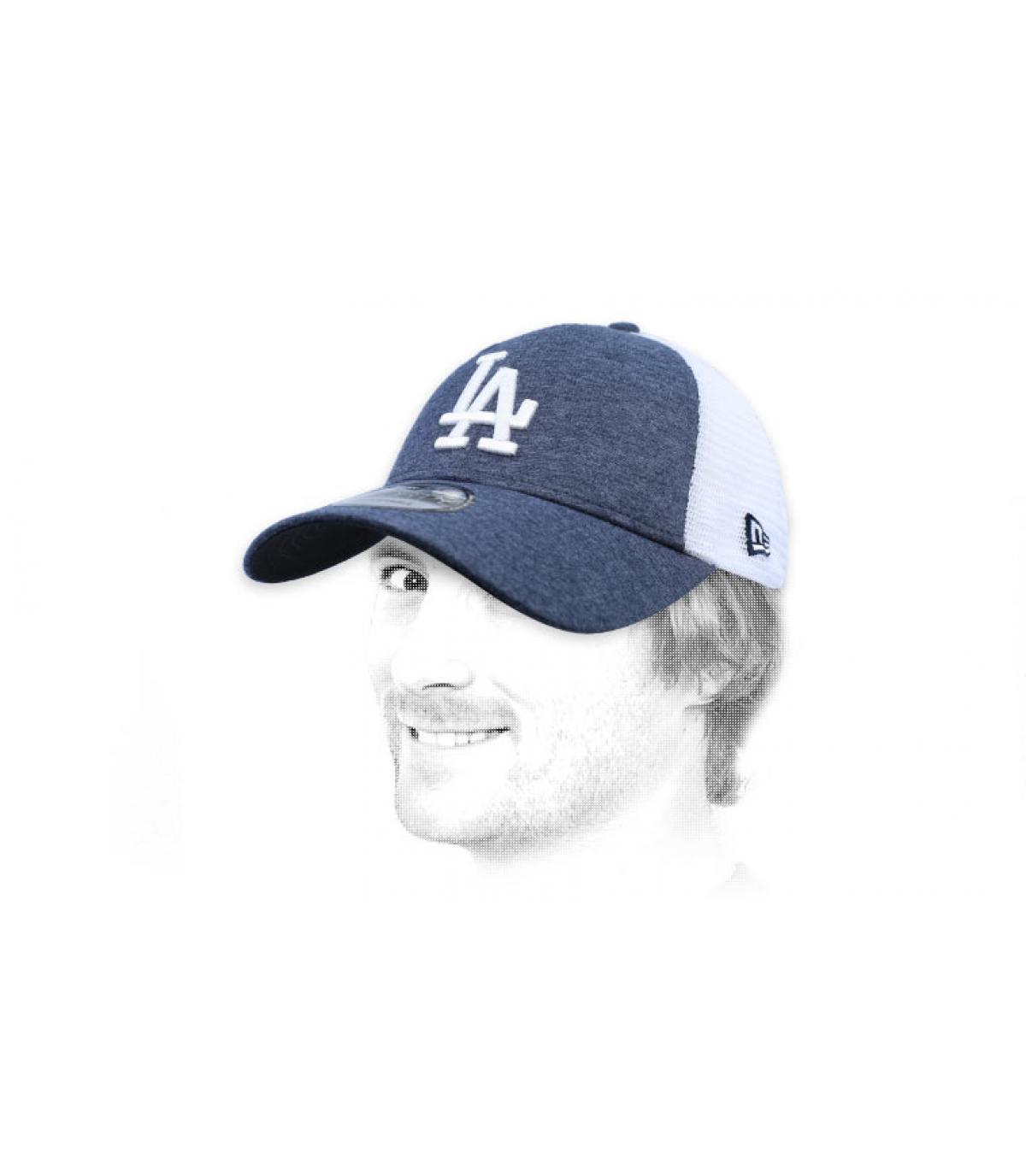 grijze LA-trucker