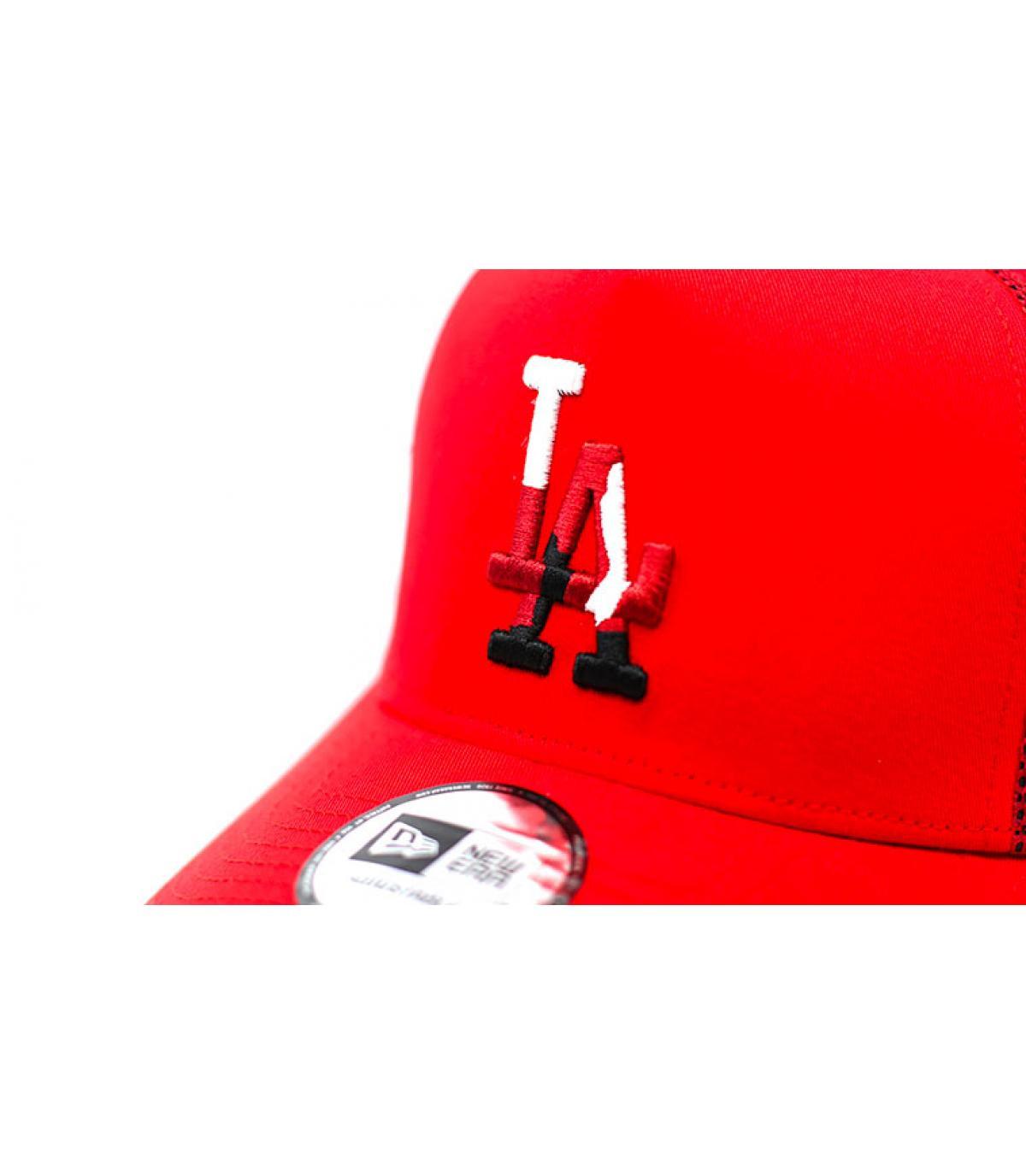 Details Trucker Camo Infill LA red - afbeeling 3