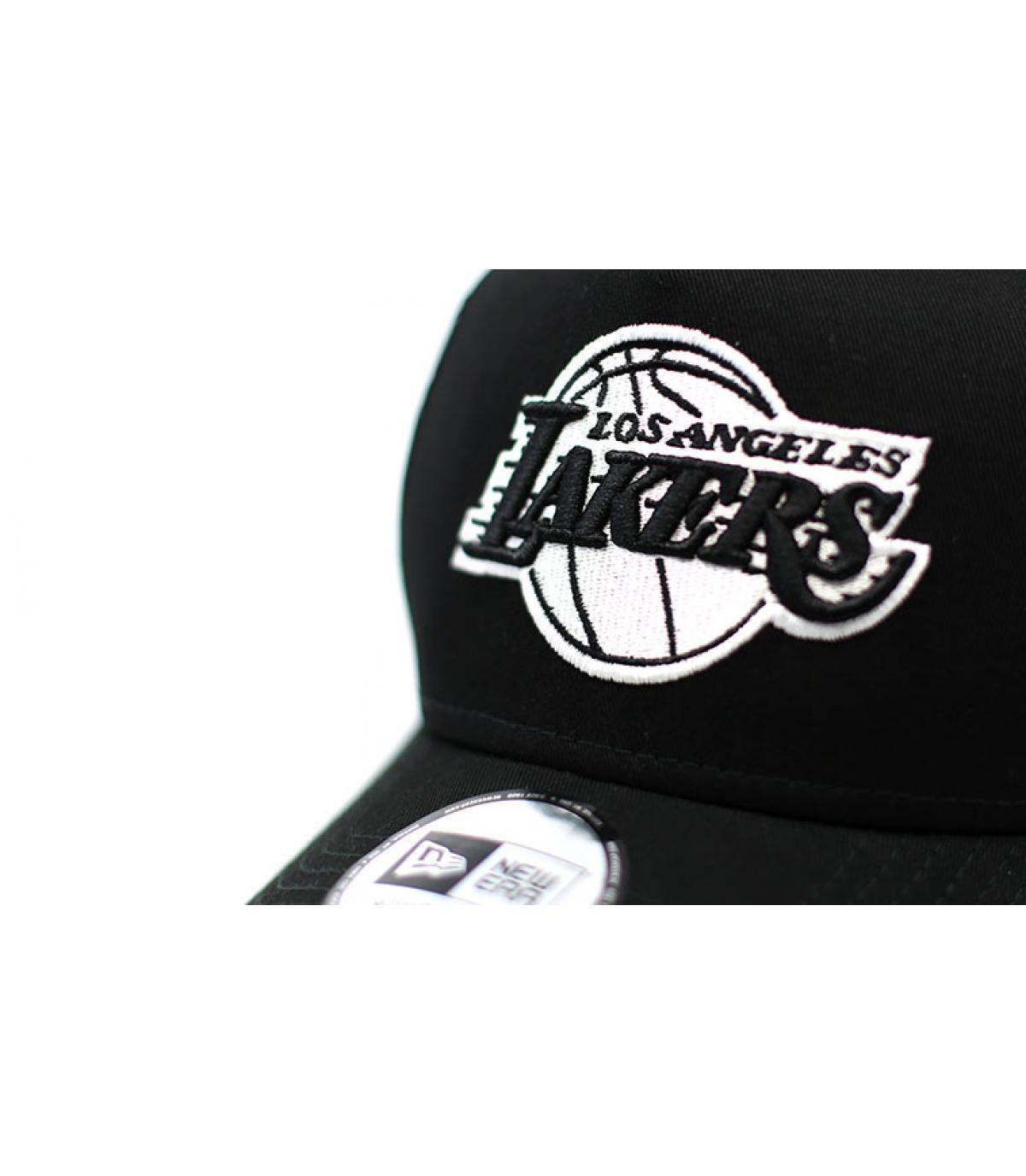 Details Trucker NBA Ess Lakers black - afbeeling 3