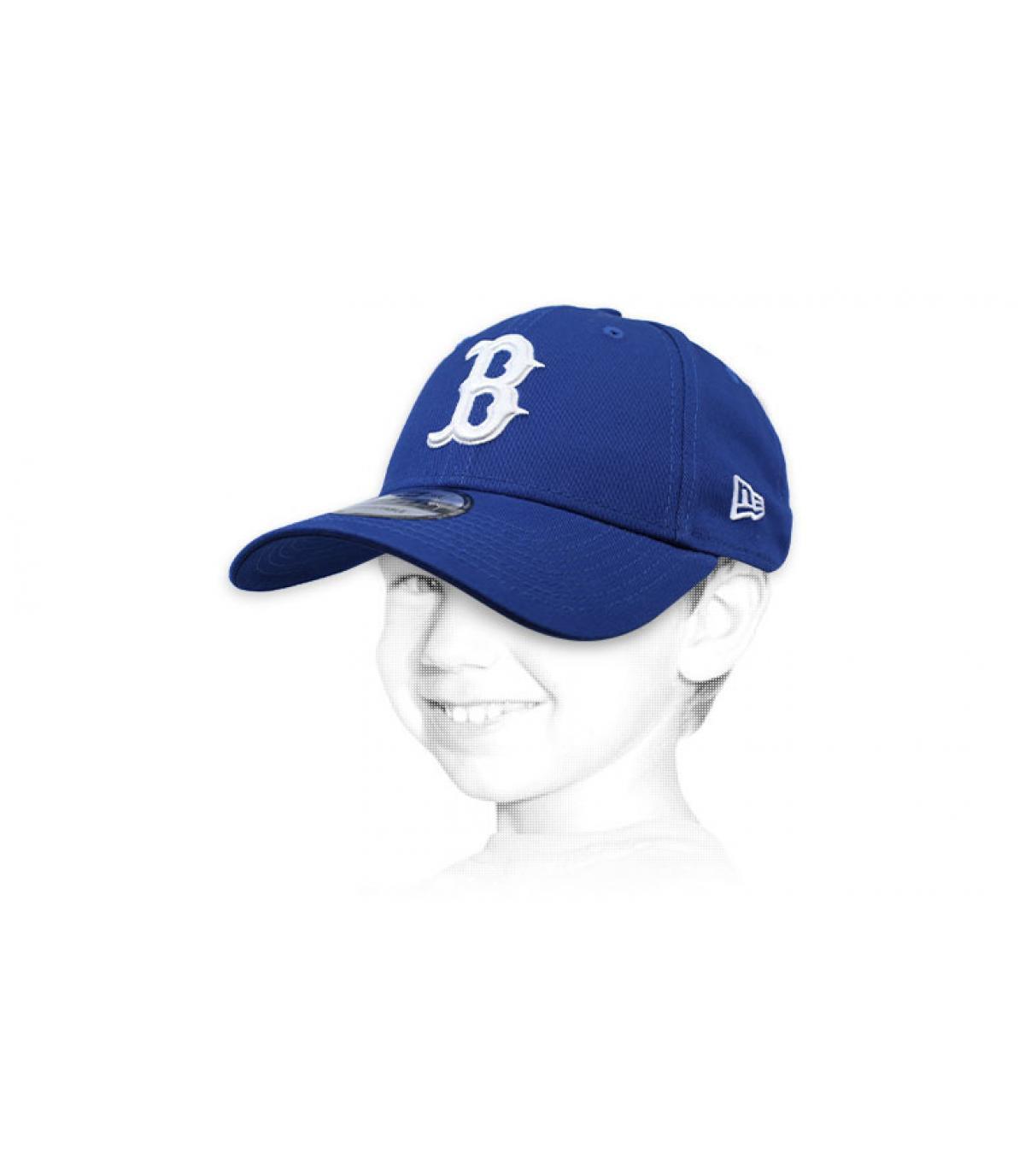 kindermuts B blauw