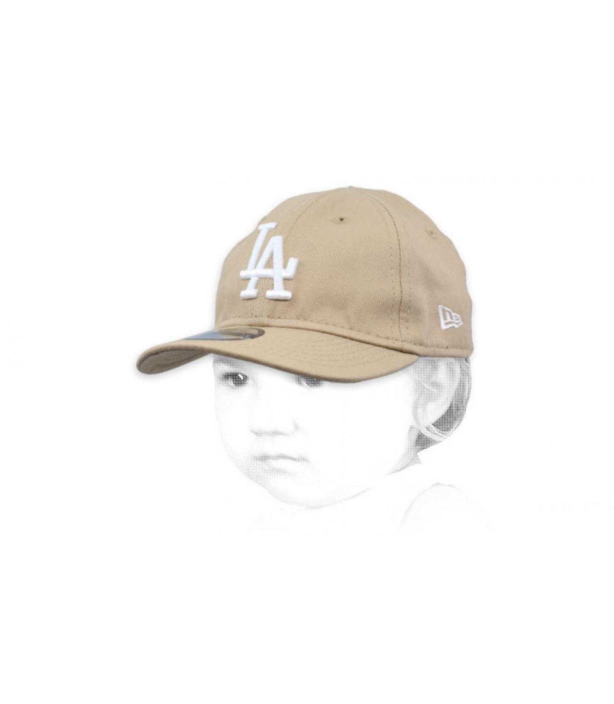 beige baby cap LA
