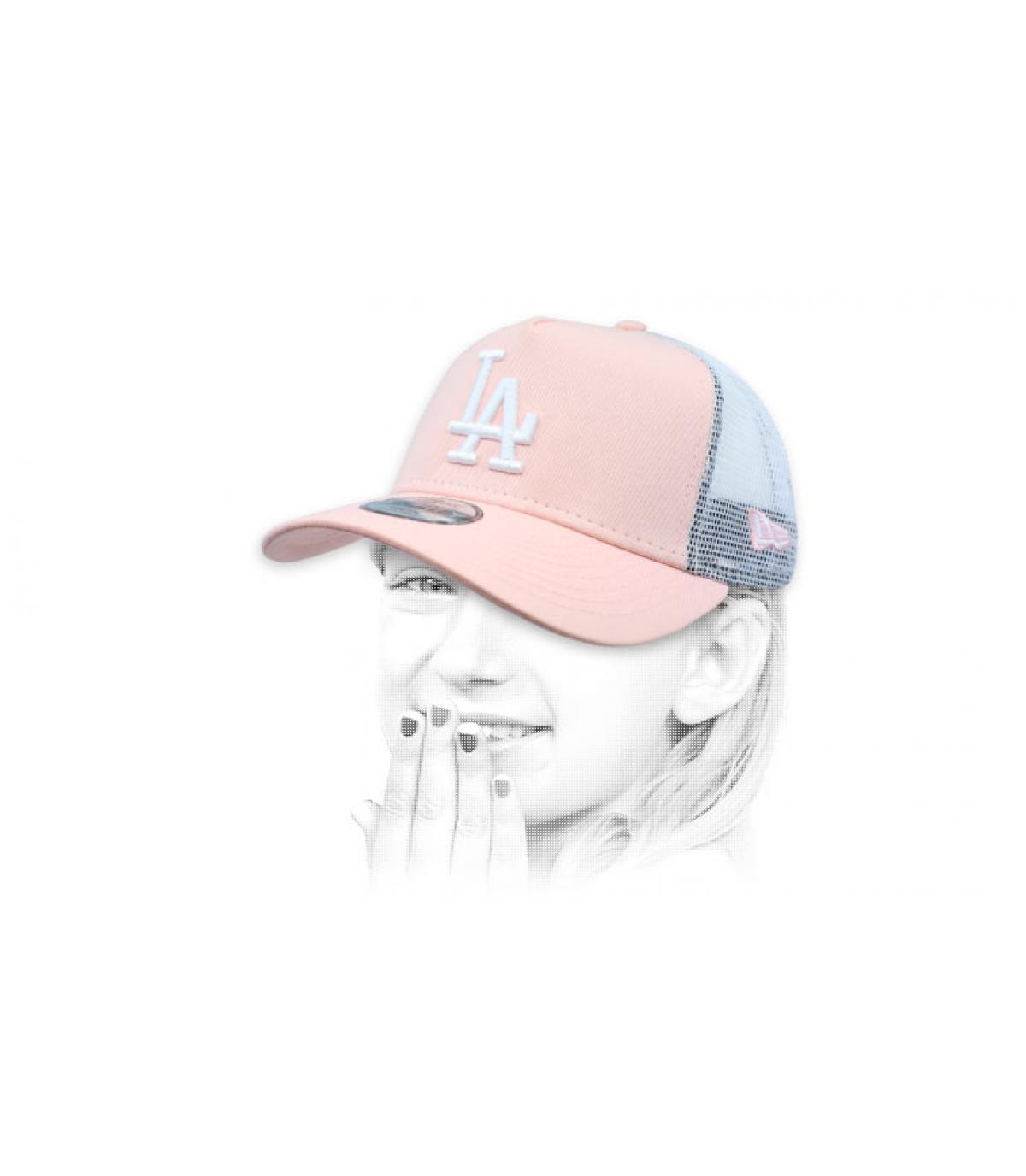 trucker LA roze kind