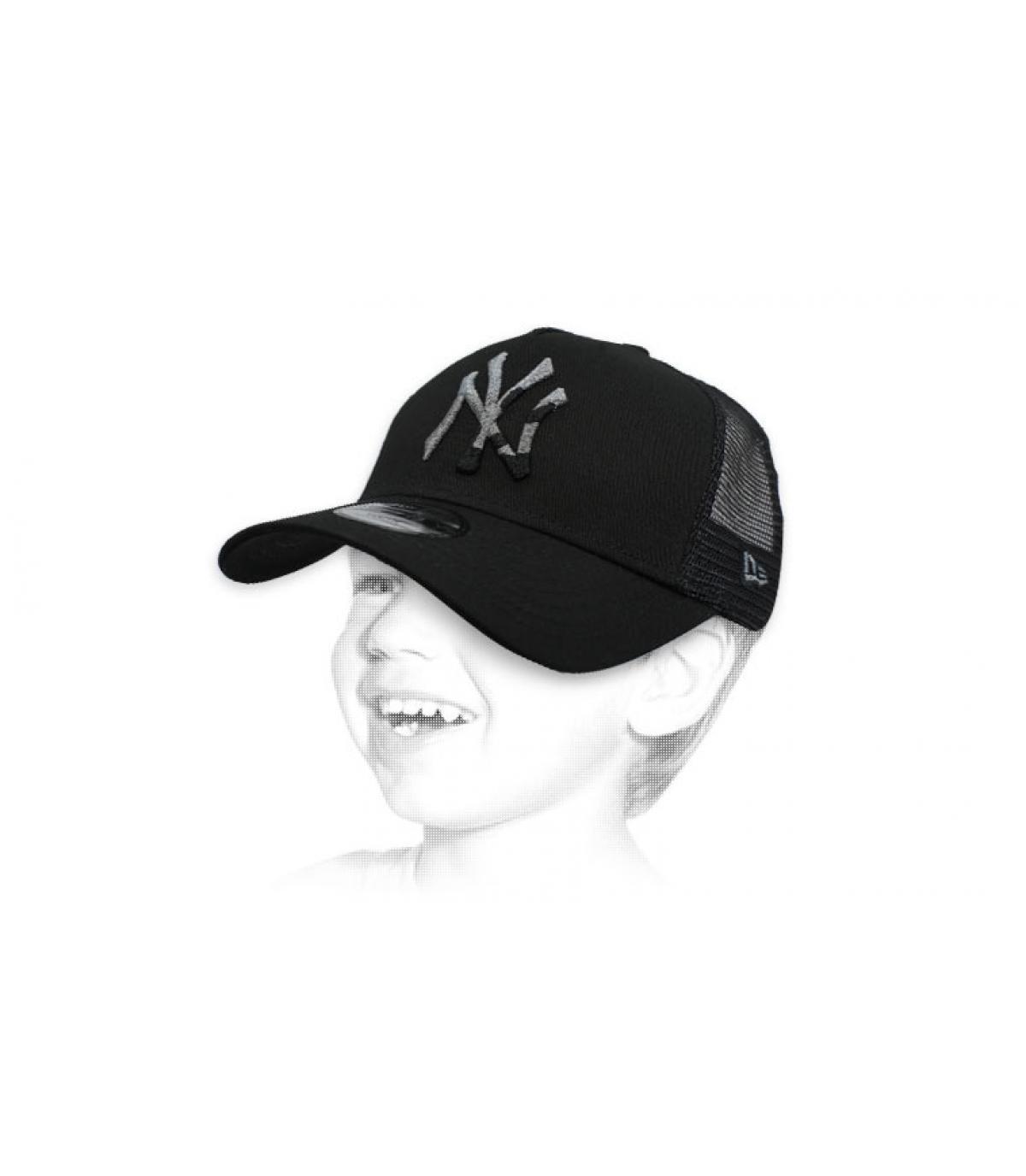 zwarte kind trucker NY