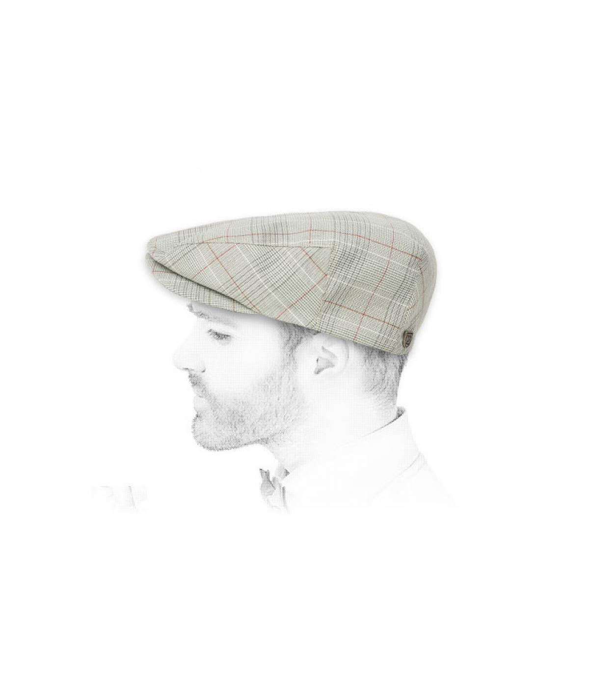 Brix beige baret