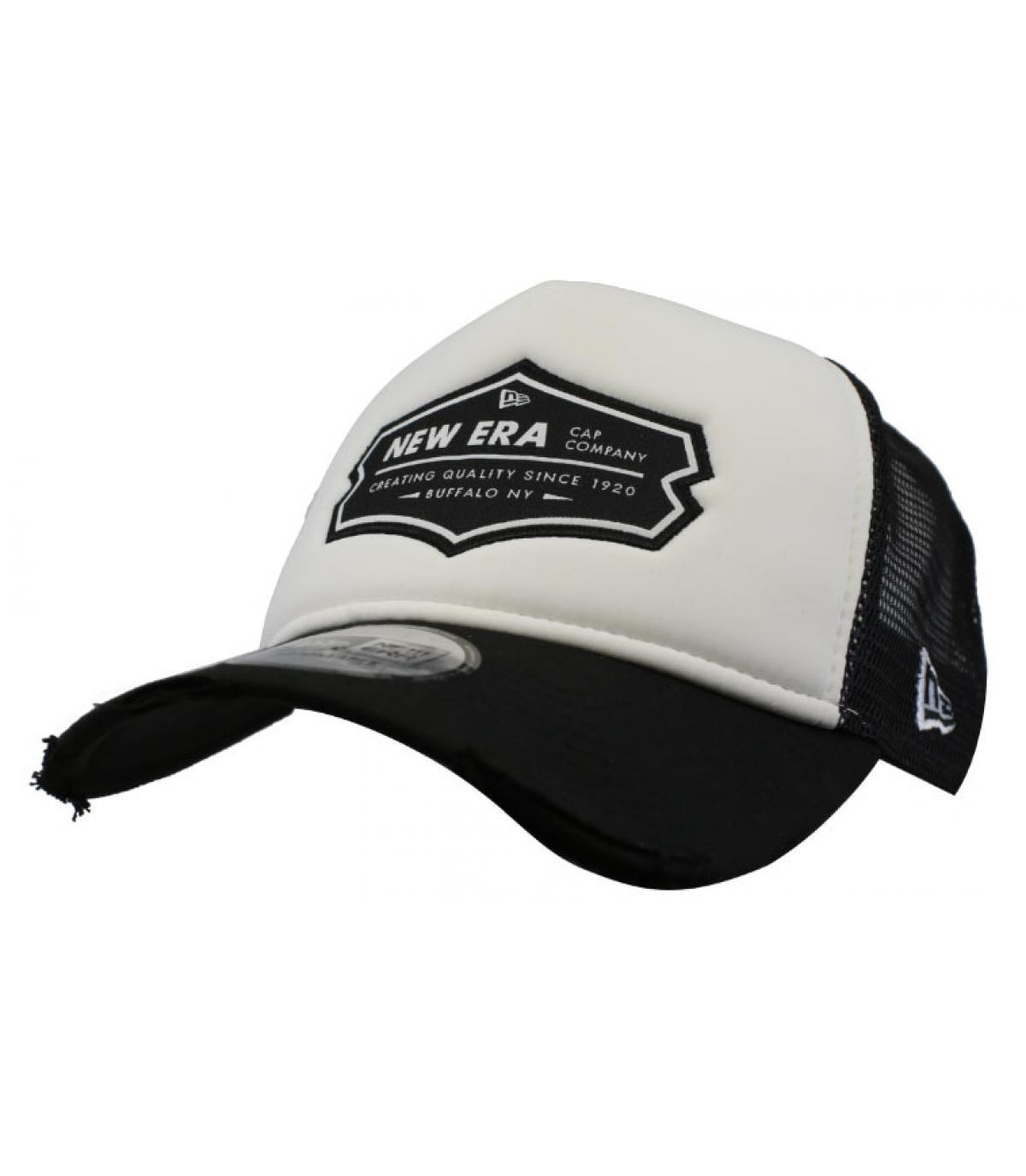 trucker New Era zwart wit